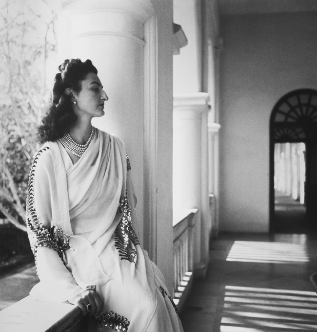 Princess Durru Shehvar, photographed by Cecil Beaton