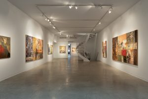 Mohammad Omer Khalil, Arabic Art, contemporary Arabic art, art reviews, new York art gallery, Aicon Gallery, art writing
