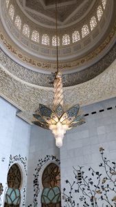Abu Dhabi, Middle Eastern art, Sheikh Zayed Grand Mosque, arabic art, city guides, Abu Dhabi city guide, travel magazine, art guides, Louvre Abu Dhabi, Abu Dhabi Art, travel guides, Eastern art, J'aipur Journal, Rupi Sood, editor picks, islamic art, arabesque patterns, Baccarat chandeliers